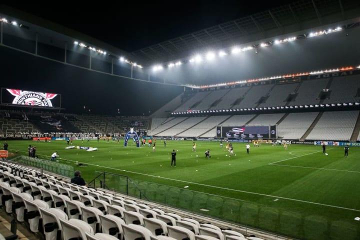 2020 Brasileirao Series A: Corinthians v Botafogo Play Behind Closed Doors Amidst the Coronavirus (COVID - 19) Pandemic