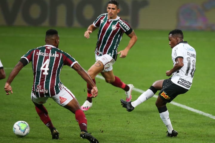 Cazares Fluminense Corinthians Brasileirão Palpites