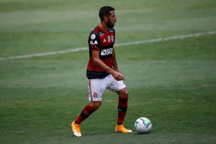Mauricio Isla Flamengo Palmeiras Supercopa do Brasil XI ideal