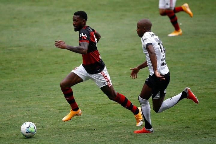 Gerson Flamengo Palmeiras Supercopa do Brasil XI ideal