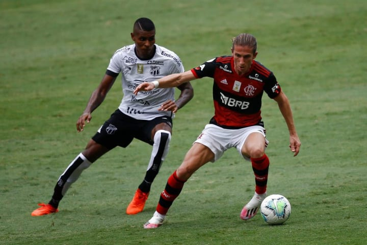 Filipe Luis Flamengo Palmeiras Supercopa do Brasil XI ideal