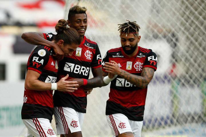 Gabriel Barbosa, Filipe Luis, Bruno Henrique