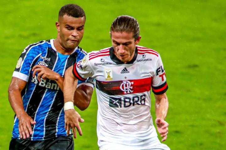 Alisson Filipe Luis Grêmio Flamengo Copa do Brasil Torcida