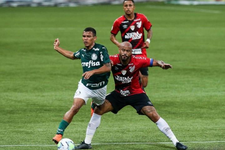Thiago Heleno Gabriel Veron Talento Futuro Palmeiras