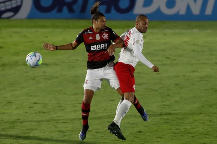 Willian Arao Ytalo Flamengo Red Bull Bragantino Campeonato Brasileiro