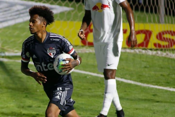 2020 Brasileirao Series A: Red Bull Bragantino v Sao Paulo Play Behind Closed Doors Amidst the