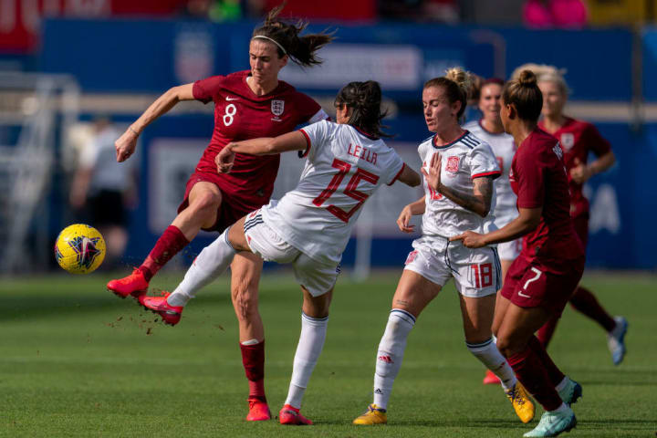 England's last game was at the SheBelieves Cup in March
