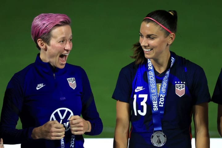 The USA have had a perfect record at the last two SheBelieve Cups