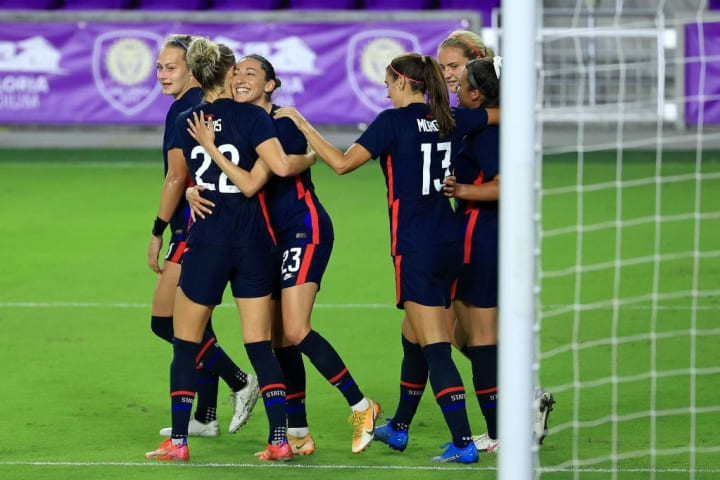 The USWNT won the 2021 SheBelieves Cup