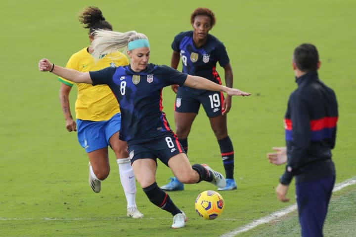 USA only need to draw against Argentina after beating Brazil