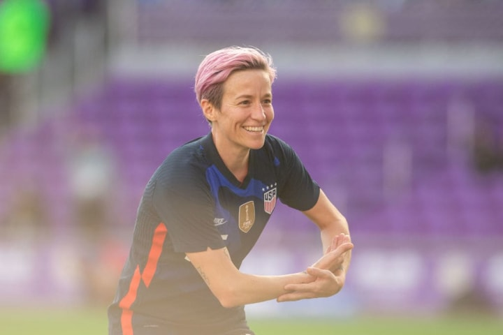 Rapinoe's three goals in one tournament was a SheBelieves first