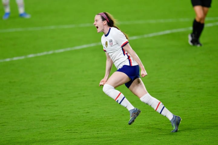 Lavelle didn't start the game but it was a strong USWNT