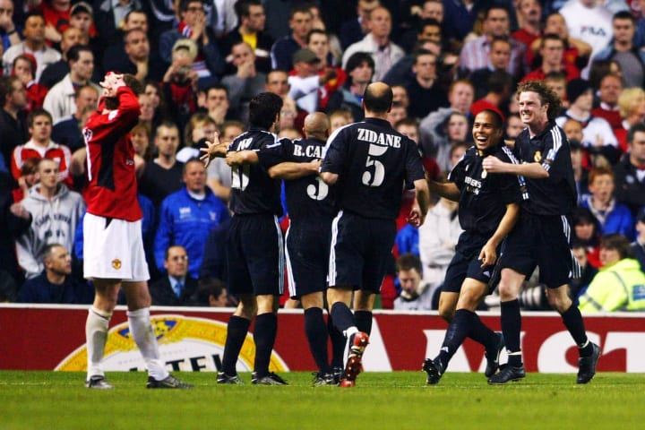 Ronaldo destroyed Man Utd at Old Trafford in the Champions League
