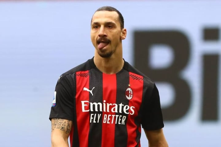 Milan and Ibrahimovic drew 2-2 in the first leg