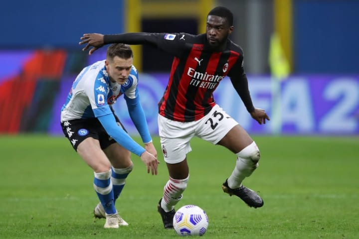 Tomori has done well since joining Milan on loan