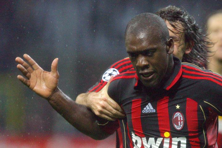 AC Milan Dutchman midfielder Clarence Se...