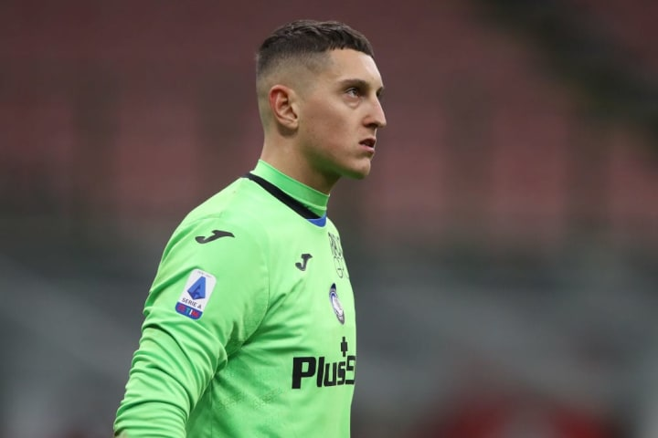 Gollini started in goal for Atalana