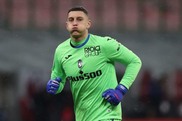 Pierluigi Gollini spent time in United's academy