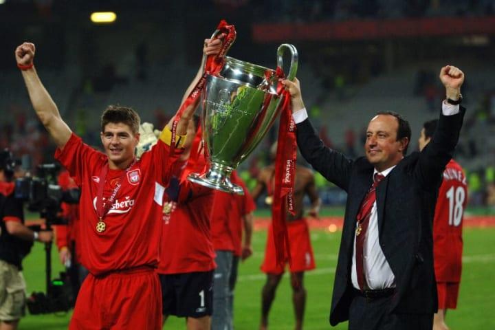 Steven Gerrard, Rafa Benitez