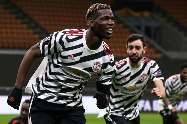Paul Pogba scored the winner against AC Milan in the last round