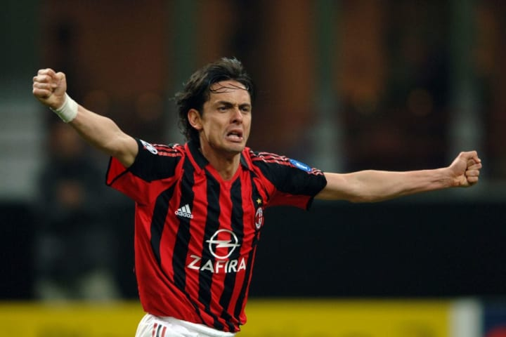 Inzaghi played a key role in Milan's 2007 success