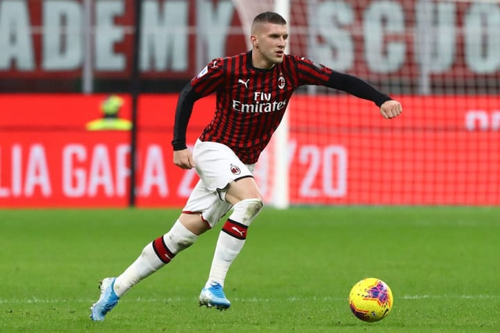 Rebic took a while to settle in at San Siro
