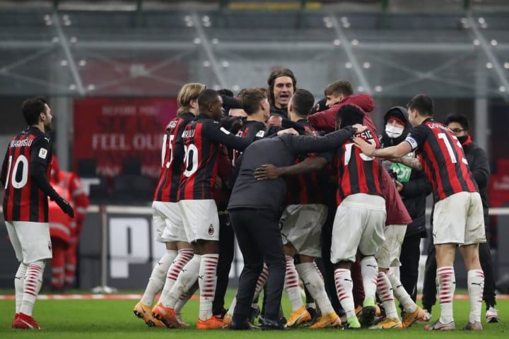 AC Milan are still flying high