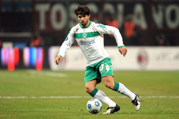 Diego drove Werder Bremen to the 2009 UEFA Cup final but was forced to miss it through suspension