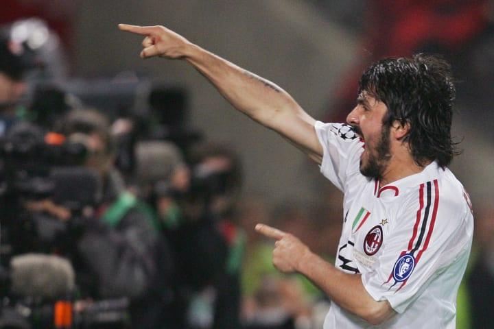 AC Milan's Italian midfielder Gennaro Iv