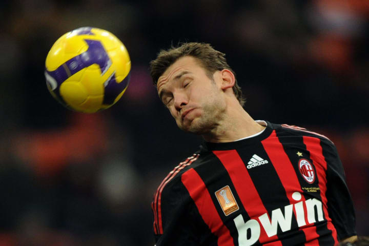 AC Milan's Ukrainian forward Andriy Shev