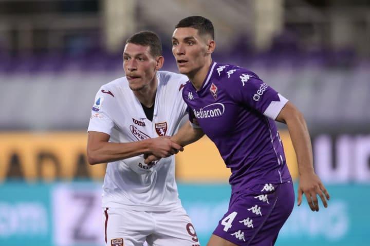 Milenkovic joined Fiorentina in 2017