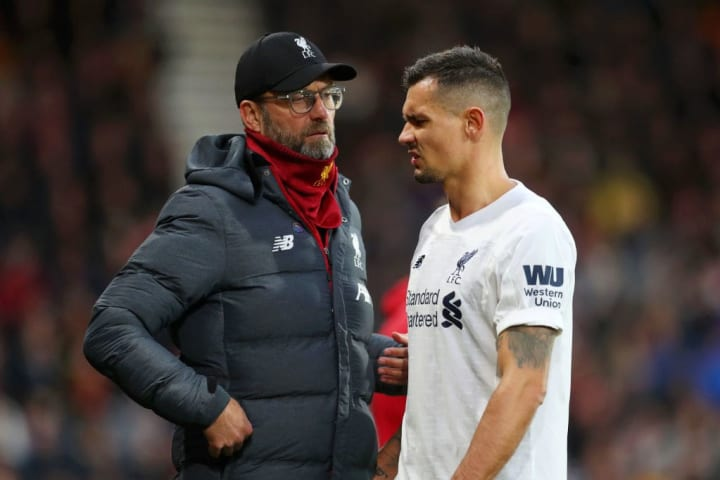Lovren has had to settle for a bit-part role at Liverpool this season