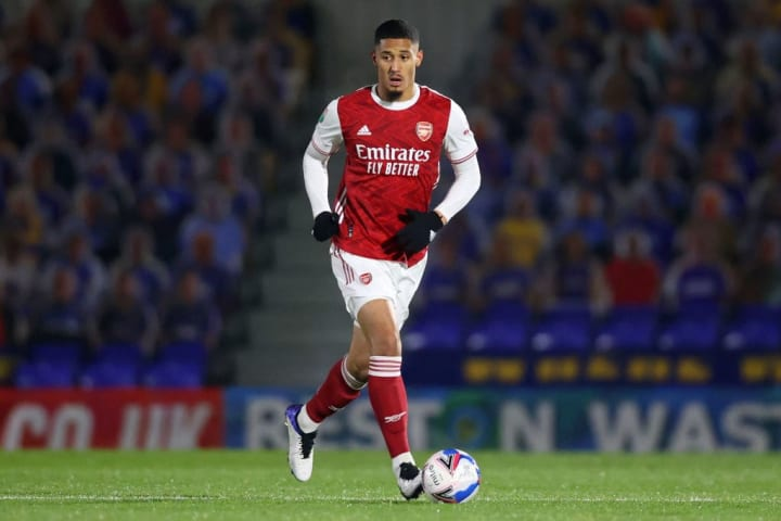 Saliba's future at Arsenal is up in the air