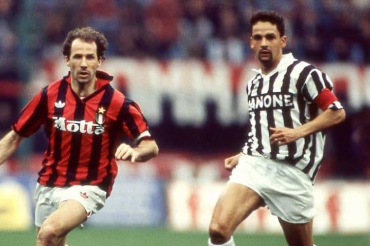 Baggio y Baresi