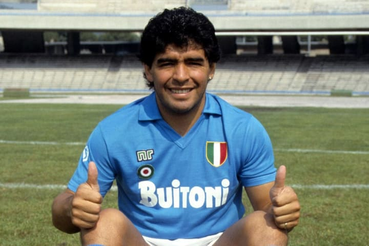 Maradona is a beloved figure at Napoli