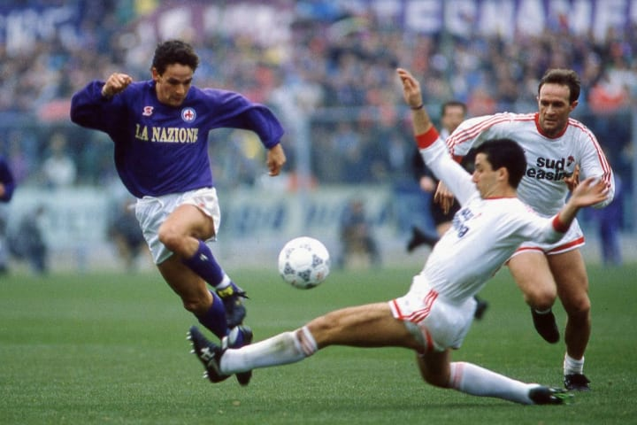 Roberto Baggio, Angelo Terracenere