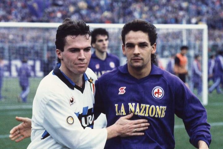 Lothar Matthaus, Roberto Baggio
