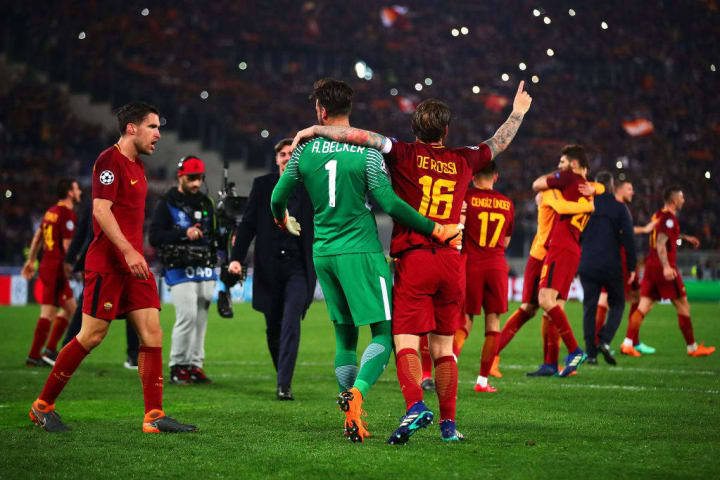 Roma completed one of the great Champions League turnarounds against Barcelona in 2018