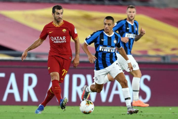 Mkhitaryan was key for Roma's attack