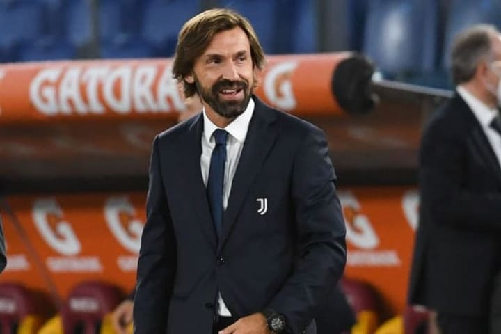 Pirlo is set to take charge of his first Champions League match as a manager