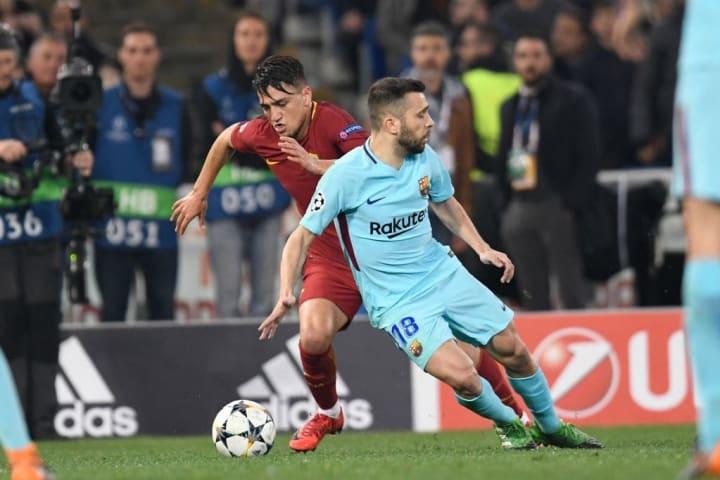 Roma Barcelona Gol fora Uefa Champions League