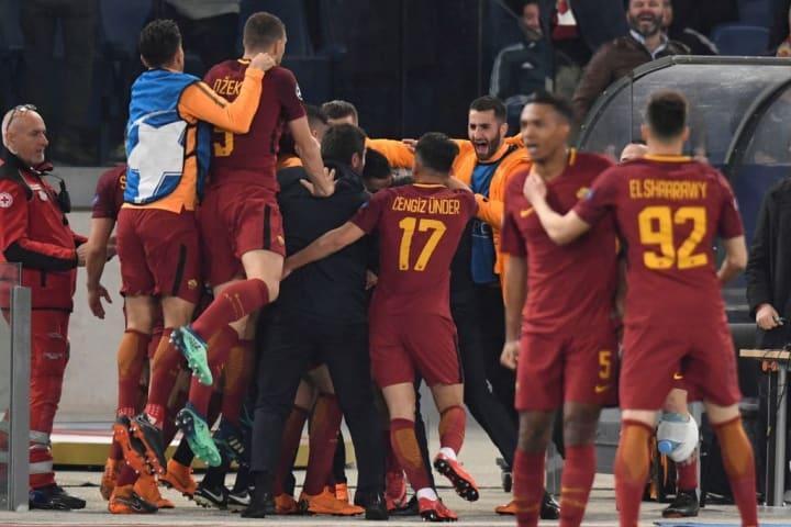 AS Roma vs FC Barcelona - UEFA Champions League