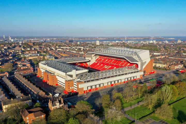 The game will be played at Anfield