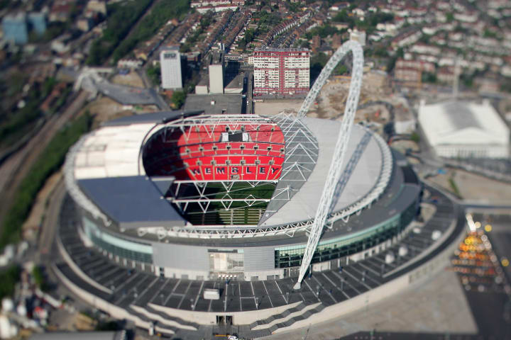 The current iteration of Wembley was opened in  2007