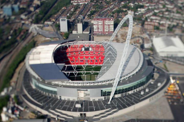 Aerial Views Of Sporting Venues In London