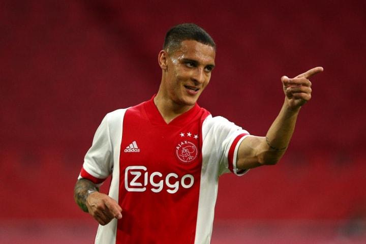 Antony, forte esterno offensivo dell'Ajax