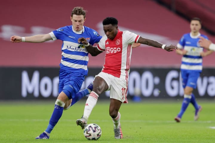 Promes played against PEC Zwolle this weekend