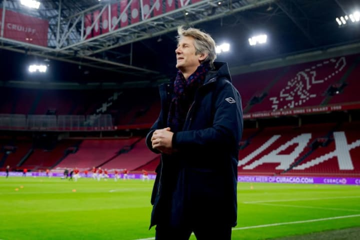 Van der Sar has been linked with various senior management roles at Man Utd for a few years