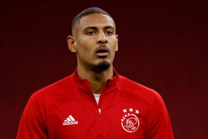 Ajax striker Sebastian Haller