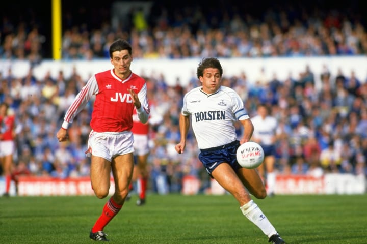 Arsenal ran out 3-2 winners in 1988